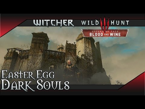 The WItcher 3: Blood and Wine - Dark Souls Easter Egg & Gesheft Relic Sword