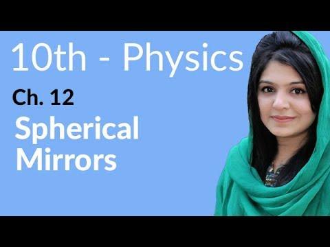 10th Class Physics, Ch 12, Spherical Mirrors - Class 10th Physics thumbnail