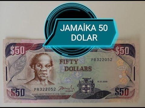 Jamaika 50 Dolar - Jamaica Currency - 50 Jamaica Dollars