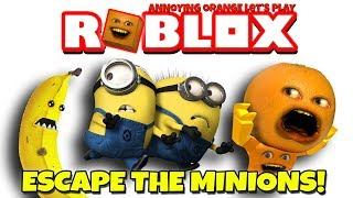 Annoying Orange Plays - Roblox: Escape the Minions OBBY!