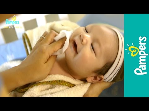 Newborn Care: Sponge Bath for Baby