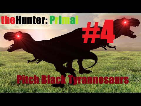 theHunter: Primal w/ velociforce! | Pitch Black Tyrannosaurs