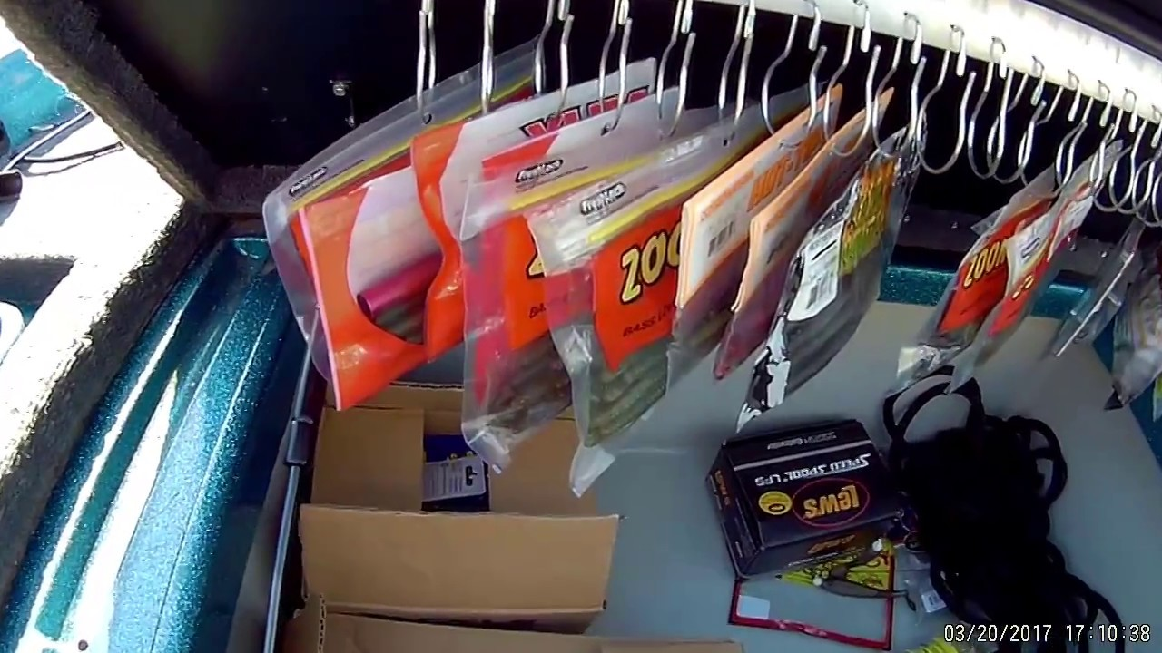 Diy Bass Boat Tackle Storage For Cheap Youtube