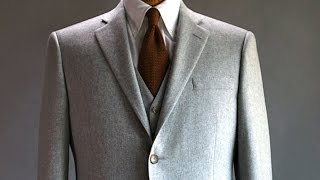 How a Hart Schaffner Marx Suit is made - BrandmadeTV
