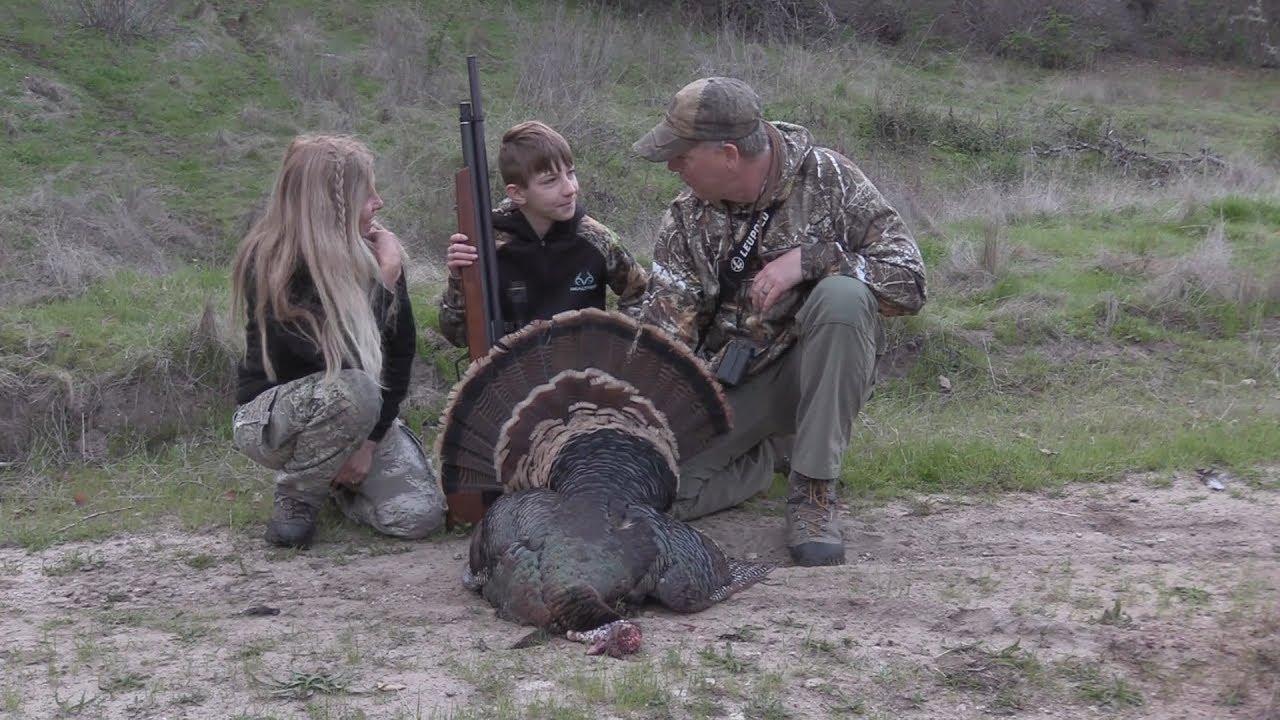 Air rifle turkey hunt -  25 Caliber Benjamin Marauder