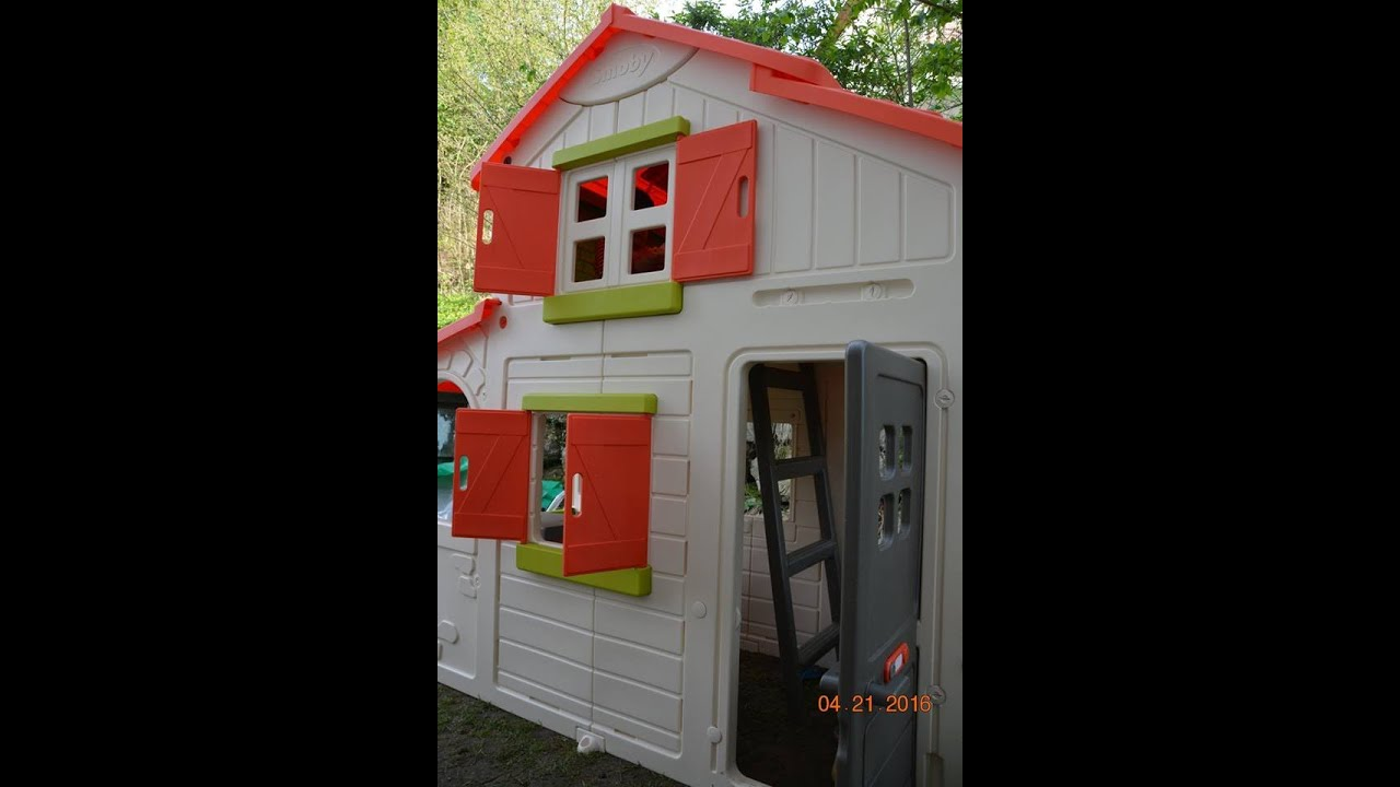 Smoby duplex playhouse youtube - Casa duplex smoby ...