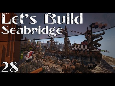 "Let's Build A City - (Seabridge) - Ep.28 ""Building A Greek Styled Ship"""