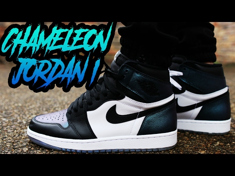 "JORDAN 1 ""ALL STAR"" ""CHAMELEON"" REVIEW AND ON FOOT 4K"