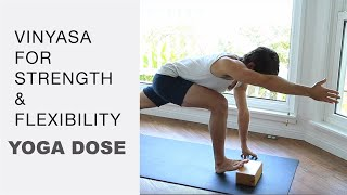 Video 50 Minute Vinyasa Flow Yoga For Strength And Flexibility With Tim Senesi download MP3, 3GP, MP4, WEBM, AVI, FLV Maret 2018