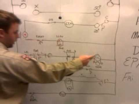 Justin Ross Explaining Defrost Cycle SCHEMATIC YouTube