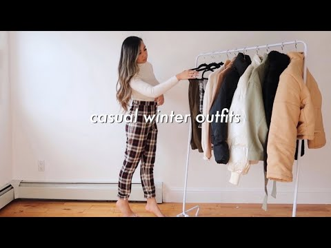 [VIDEO] - CASUAL WINTER OUTFITS LOOKBOOK ❄️| comfy & casual outfit ideas 2
