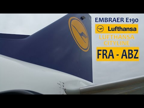 TRIP REPORT | Lufthansa CityLine LH970 (CL970): Frankfurt Am Main FRA ✈ Aberdeen Dyce Int'l ABZ