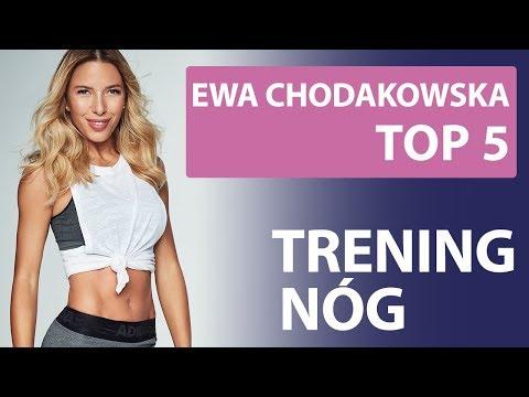 Ewa Chodakowska - TOP 5 [Trening nóg] from YouTube · Duration:  58 seconds