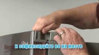 видео Ремонт холодильника.Лед в морозильной камере