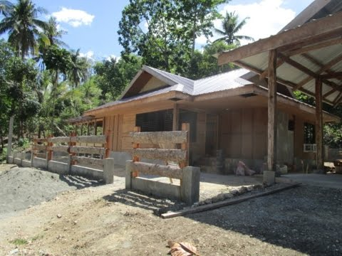 Philippine Expats, New Home Construction, Guimaras Island, Day 3 video 2, Philippines