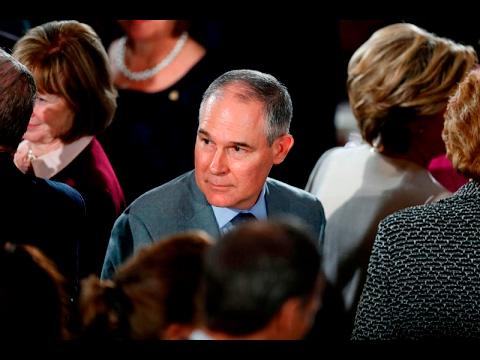 Scott Pruitt confirmed to head EPA in near-partisan vote