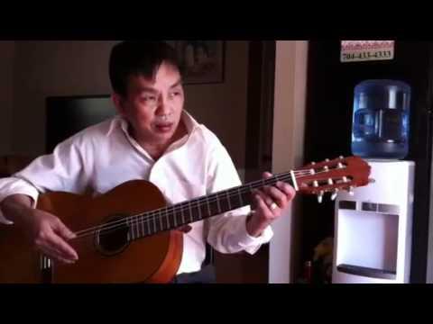 Tu hoc Dan guitar: chu am Am-điệu slow