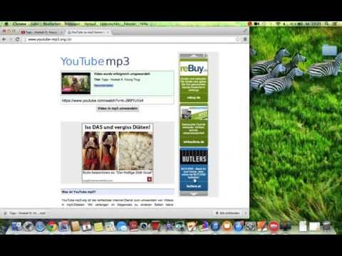 How To Convert Youtube Video To Mp3 (German)