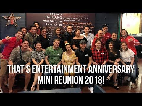 That's Entertainment Anniversary Mini Reunion 2018
