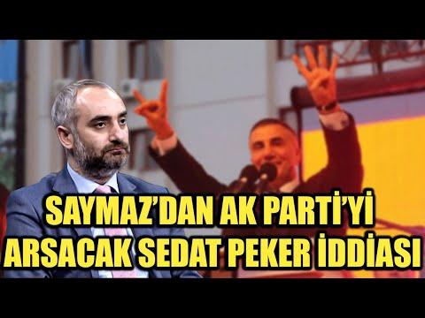 İsmail Saymaz'dan AK Parti'yi sarsacak Sedat Peker iddiası