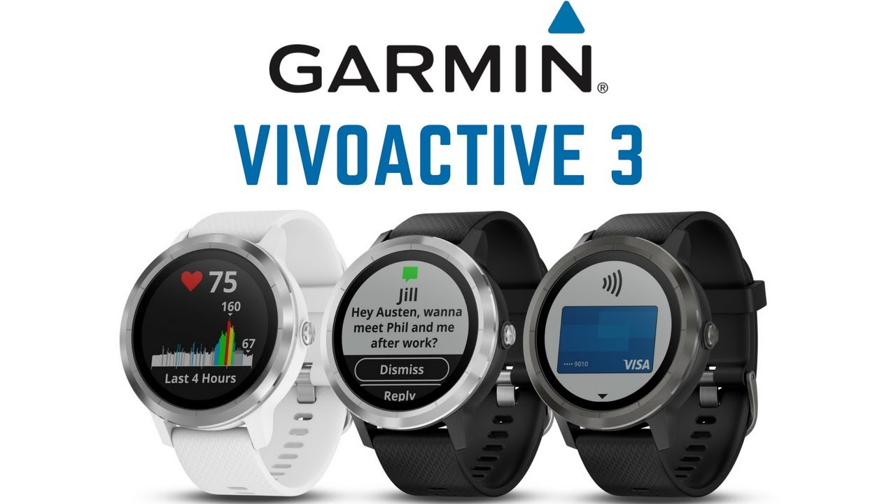 448801d80 Garmin Vivoactive 3 - Tested & Reviewed - YouTube