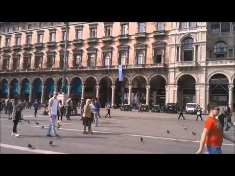 Vlog centro de Milano Italia