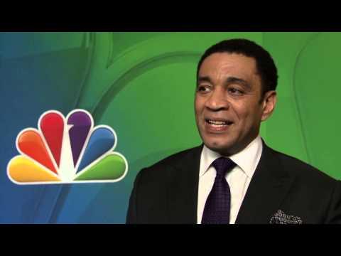 The Blacklist  Harry Lennix NBC Upfronts TV Interview