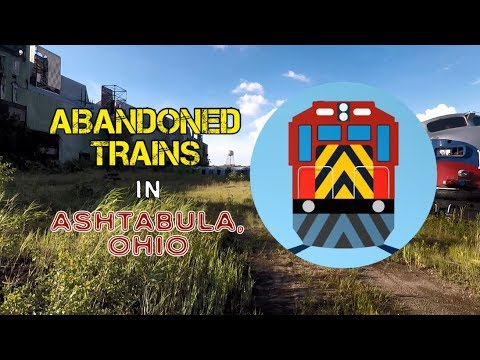 Mr  P  Explores    Abandoned Trains in Ashtabula, OH
