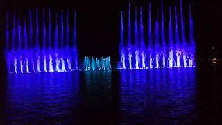 Абрау Дюрсо Шоу Поющие фонтаны часть 6