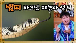 뱀띠의 타고난 재능과 성격! 뱀띠 운세~ 뱀띠의 모든 것! [서울점집 도빈도령]