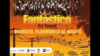 01 de Noviembre 2014 . Orquesta Filarmónica de Bogotá en Yopal