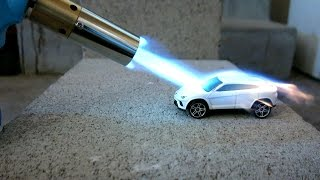 Toy car vs Torch!