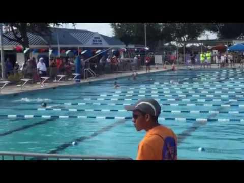 Wharton Tiger Sharks 13/14 Yr Old Girls 200 Meter Medley Relay at the 2016 TAAF Summer Games