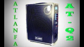 Обзор и тест: Atlanfa AT-Q2 Bluetooth, Акустическая мультимедийная система