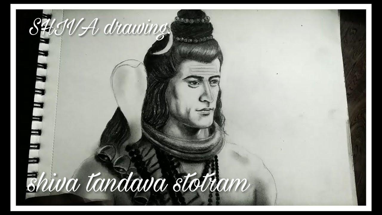 Shiva drawing mahadev mahadev painting shiva pencil drawing pawan nath art