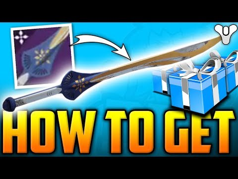 Destiny 2 - How To Get The ZAPHYR Secret Dawning Sword - The Dawning Event Hidden Reward