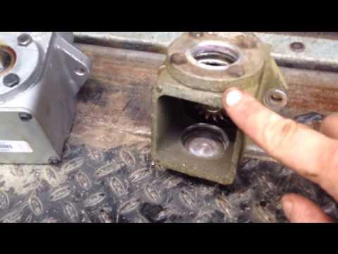 Grasshopper 721 gearbox fail / diagnosis