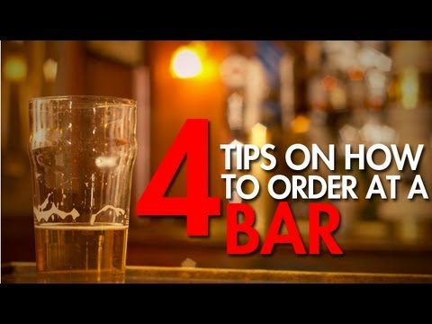 How To Order A Drink At A Bar