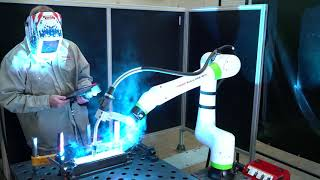 Welding with a FANUC Cobot