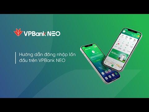 Kích hoạt tài khoản và đăng nhập lần đầu trên ứng dụng VPBank NEO