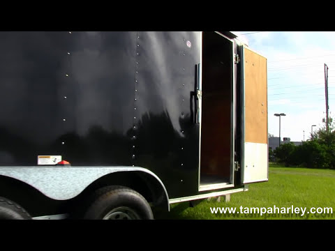 Used 2006 Cargo Craft Enclosed Motorcycle Trailer - For Sale