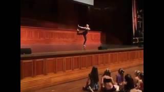 "Maddie Ziegler dancing ""Cellophane"" in your tour on Australia!"