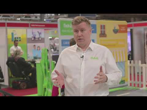 Fish Insurance - an interview with John Garrard at Naidex 2018
