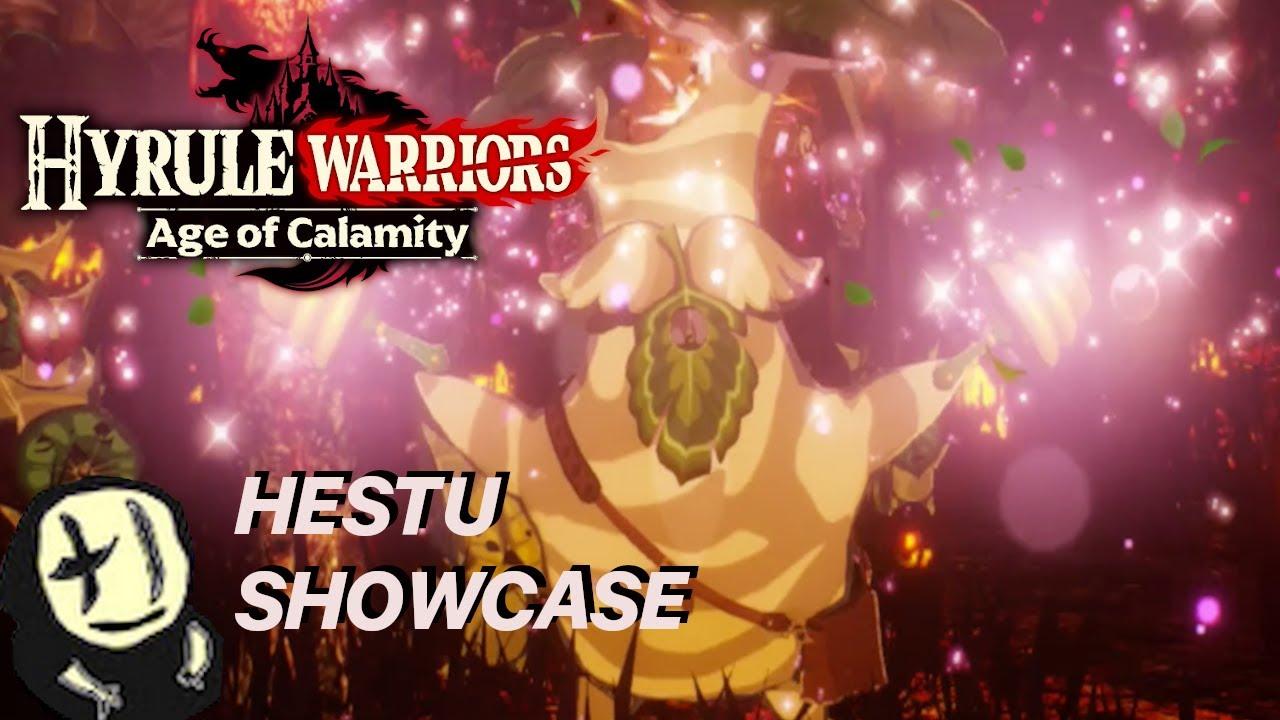 Hestu The Surprisingly Stunning Sensation Hyrule Warriors Age Of Calamity Showcase Youtube