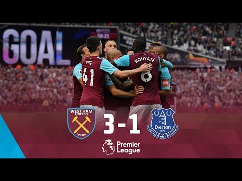 HIGHLIGHTS: WEST HAM UNITED 3-1 EVERTON