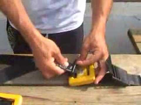 how to install a diving weight belt youtube. Black Bedroom Furniture Sets. Home Design Ideas