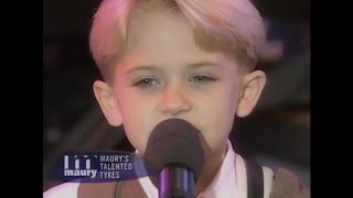 The Maury Show | 8 Year Old Hunter Hayes on the Maury Show!
