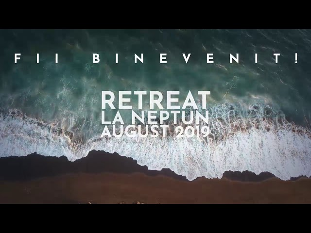 Retreat MIRACOLUL LINIȘTII - Rune Heivang - Neptun  August 2019
