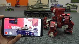 Боевой Fpv Робот Управляемый Через Телефон ... Rc Robot Gjs Geio