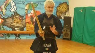 2° PARTE OJIWAZA    M° Luigi Rigolio 6°Dan KENDO  Roma 19-20 novembre 2016
